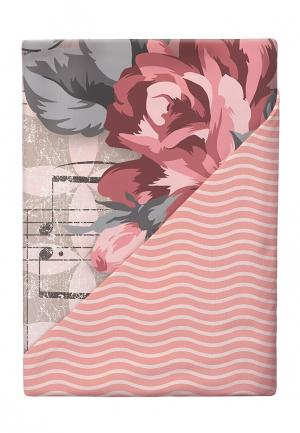 Комплект постельного белья 1,5-спальный Loveme. Цвет: розовый