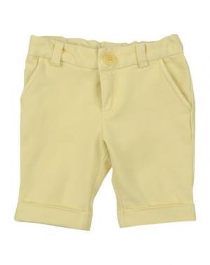 Повседневные брюки GRANT GARÇON. Цвет: желтый