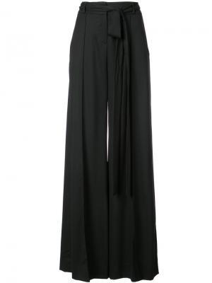 Широкие брюки Carolina Herrera. Цвет: чёрный