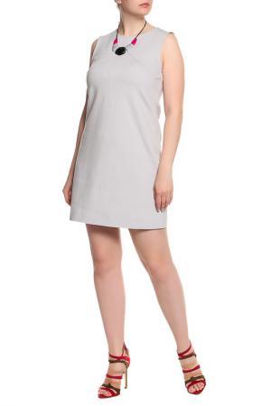 Платье Marc Cain. Цвет: серый