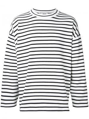 Striped sweatshirt monkey time. Цвет: белый