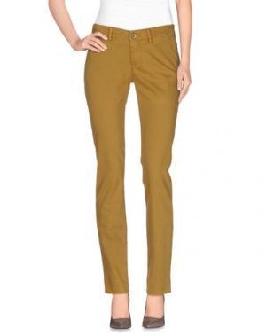Повседневные брюки MAISON CLOCHARD. Цвет: верблюжий