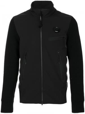 Куртка на молнии CP Company. Цвет: чёрный