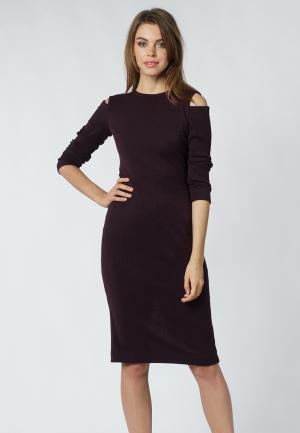 Платье Evercode. Цвет: бордовый