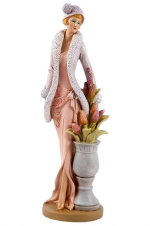 Статуэтка Русские подарки. Цвет: белый, розовый