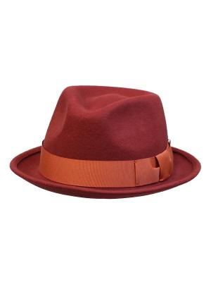 Шляпа Cardinal&Margo. Цвет: терракотовый, рыжий
