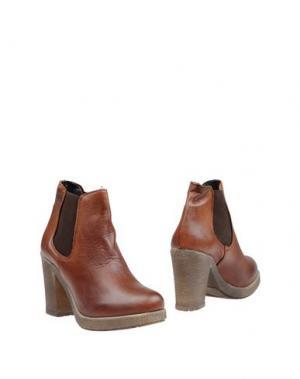 Полусапоги и высокие ботинки CREATIVE. Цвет: коричневый