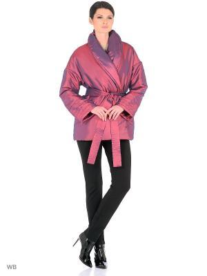 Куртка SEVONA. Цвет: бордовый