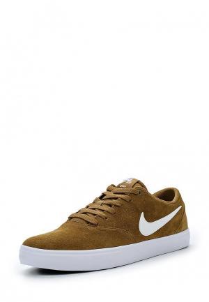 Кеды Nike. Цвет: коричневый