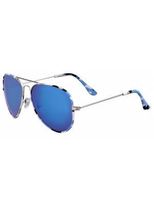 Очки солнцезащитные Модные истории. Цвет: синий