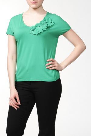 Блуза HEY. Цвет: зеленый