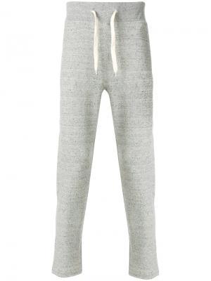 Спортивные брюки прямого кроя Marc Jacobs. Цвет: серый