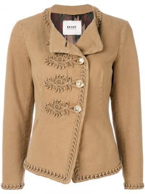 Куртка с отделкой Bazar Deluxe. Цвет: телесный
