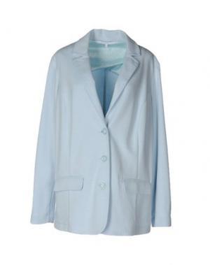 Пиджак XANDRES. Цвет: небесно-голубой