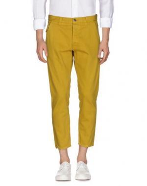 Джинсовые брюки 2W2M. Цвет: кислотно-зеленый