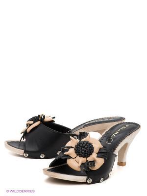 Сабо Felina shoes. Цвет: черный