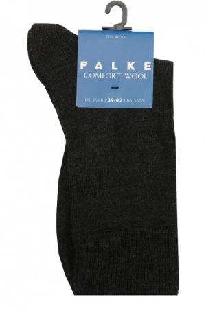 Утепленные носки Comfort Wool Falke. Цвет: темно-серый