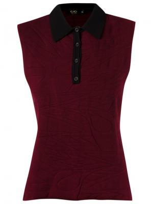 Sleeveless polo shirt Gig. Цвет: красный