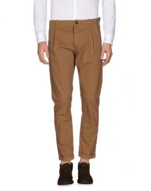 Повседневные брюки INDIVIDUAL. Цвет: верблюжий