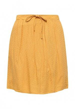 Юбка Jennyfer. Цвет: желтый