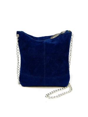 Сумка A.Valentino. Цвет: темно-синий, антрацитовый, синий