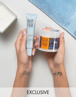 Nip+Fab Два ночных средства с гликолевой кислотой эксклюзивно для ASOS. Цвет: бесцветный