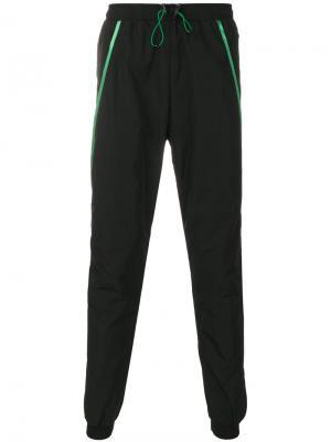 Спортивные брюки в полоску Cottweiler. Цвет: чёрный