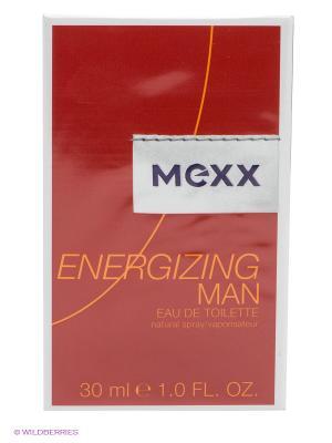 Туалетная вода Energizing Man, 30 мл MEXX. Цвет: красный, белый