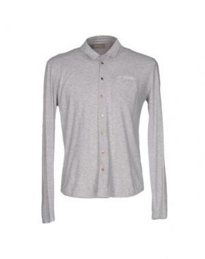 Pубашка MAESTRAMI. Цвет: светло-серый