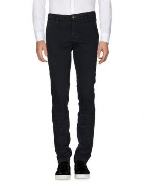 Повседневные брюки HEAVEN TWO. Цвет: темно-синий