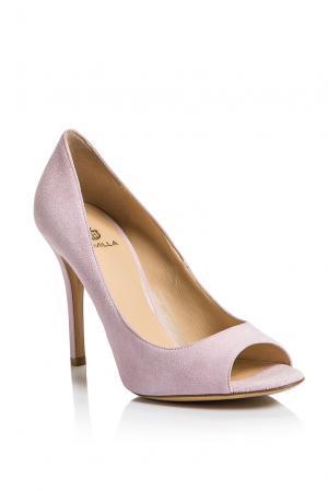 Замшевые туфли AF-186373 Semilla. Цвет: розовый