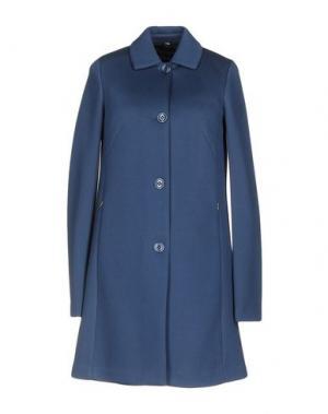 Легкое пальто GEOSPIRIT. Цвет: грифельно-синий