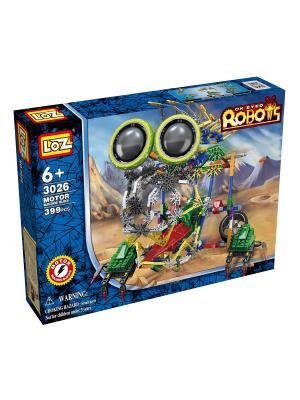 Электромеханический конструктор IROBOT. Серия: Роботы. МегаЛап Loz. Цвет: синий