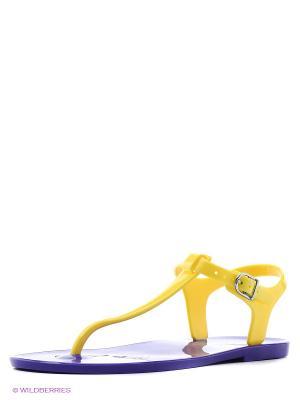 Сандалии Mon Ami. Цвет: фиолетовый