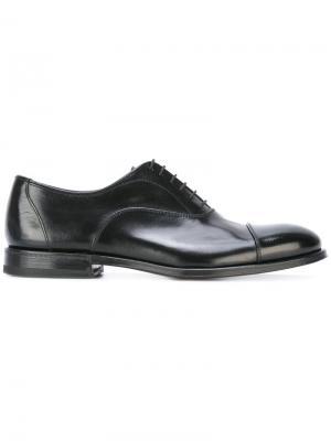 Туфли со шнуровкой Henderson Baracco. Цвет: чёрный