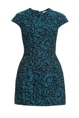 Платье из шерсти 156717 Charisma. Цвет: разноцветный