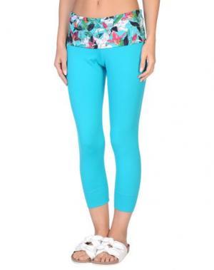 Пляжные брюки и шорты VDP COLLECTION. Цвет: бирюзовый