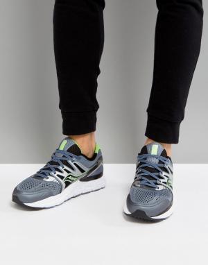 Saucony Серые кроссовки Running redeemer iso s20381-3. Цвет: серый