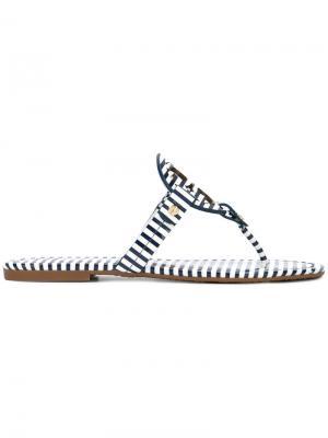 Miller sandals Tory Burch. Цвет: синий