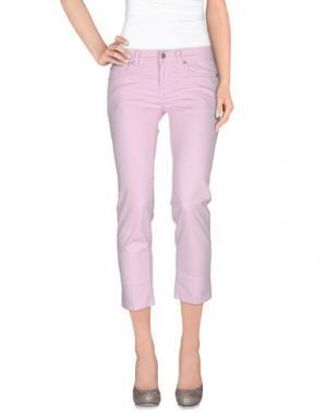 Повседневные брюки NOTIFY. Цвет: светло-розовый