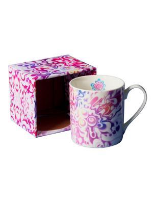 Кружка Gift'n'Home. Цвет: белый, розовый, сиреневый