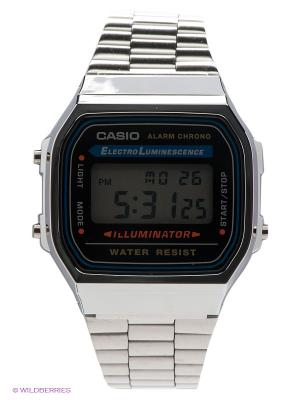 Часы Casio A-168WA-1. Цвет: серебристый