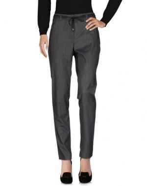 Повседневные брюки TAIFUN. Цвет: стальной серый