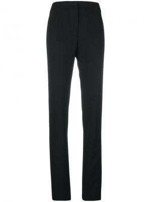 Прямые брюки Boule De Neige. Цвет: чёрный