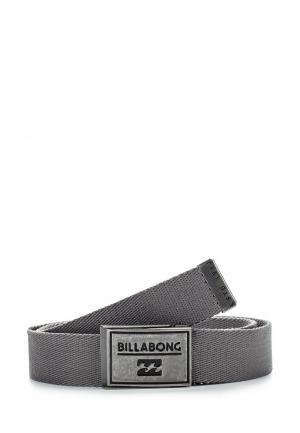 Ремень Billabong. Цвет: серый