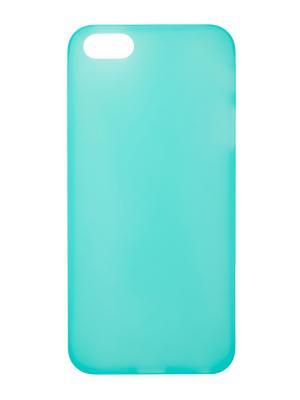 Чехол крышка задняя для iphone 5 сверхтонкая IQ Format. Цвет: светло-зеленый