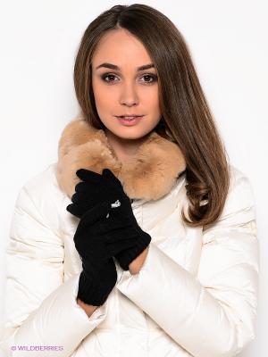 Перчатки Fundamentals Knit Gloves Puma. Цвет: черный