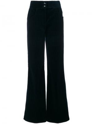 Вельветовые брюки клеш Etro. Цвет: синий