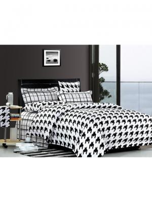 Комплект постельного белья ROMEO AND JULIET. Цвет: черный, белый