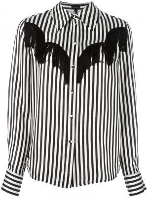 Рубашка в полоску Marc Jacobs. Цвет: чёрный